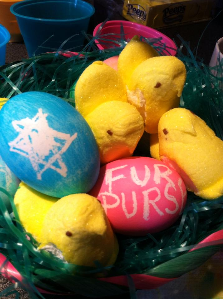 Fur Purse has Peeps