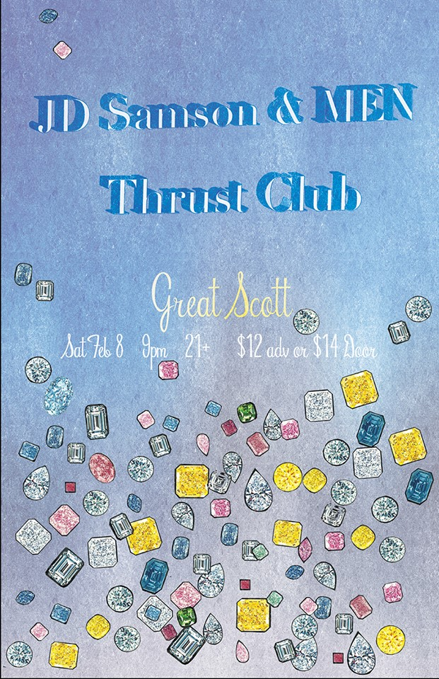 men and thrust club